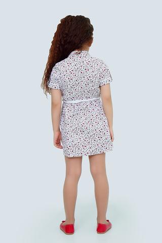 Платье детское + пояс (артикул 1Л2-2)