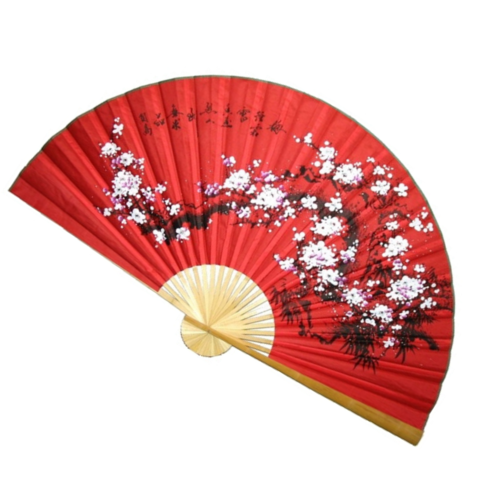 Веер деревянный сакура