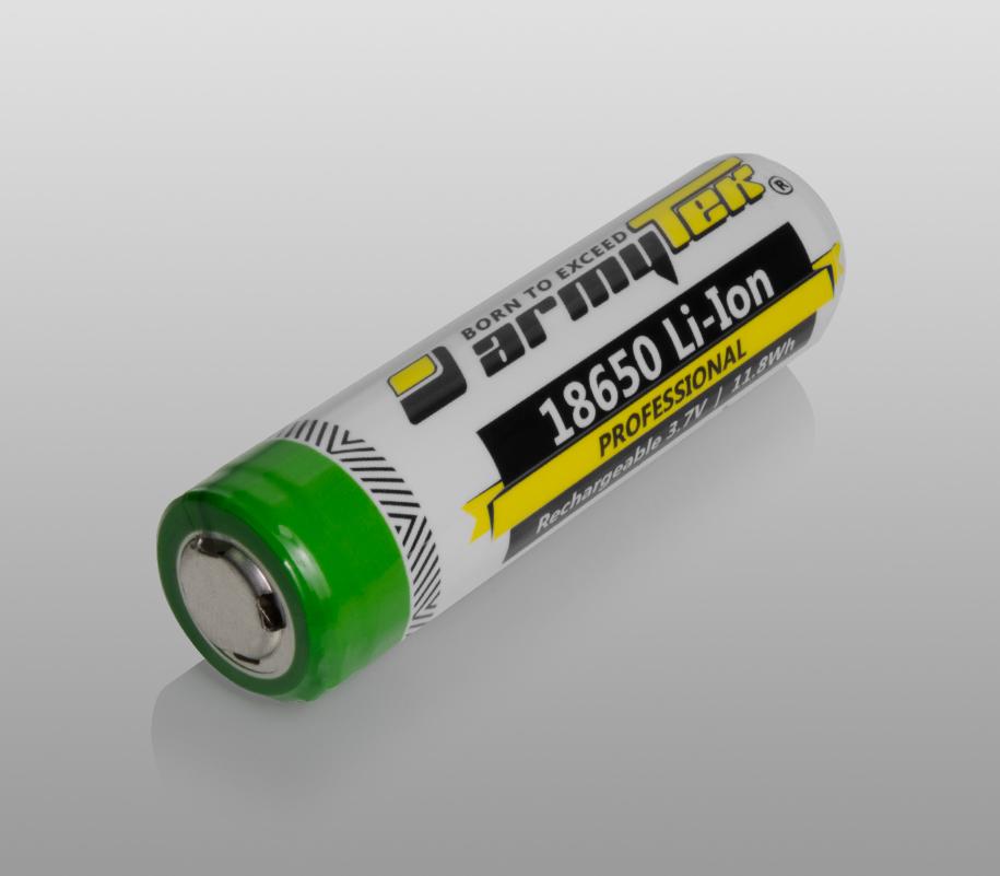 Li-Ion аккумулятор Armytek 18650 3200 mAh - фото 1