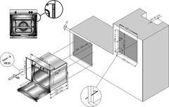 Встраиваемый духовой шкаф Simfer B6EB16011 - схема