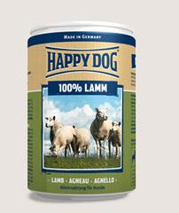 Консервы для собак Happy Dog 100% Ягненок