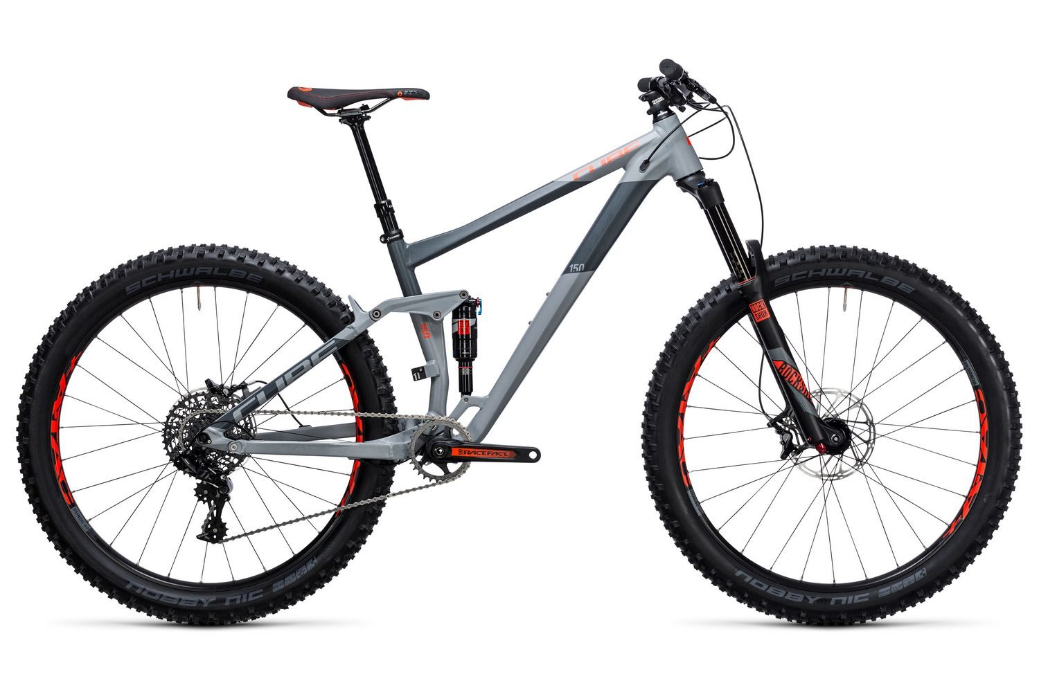 Cube Stereo 150 HPA Race 27.5+ (2017)