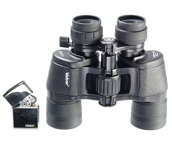 Бинокль Veber zoom 8-18x40 черный - фото 3