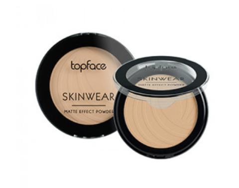 Topface Пудра матовая Skinwear Matte Effect тон 06,розовый терракотовый - РТ265 (10 г)