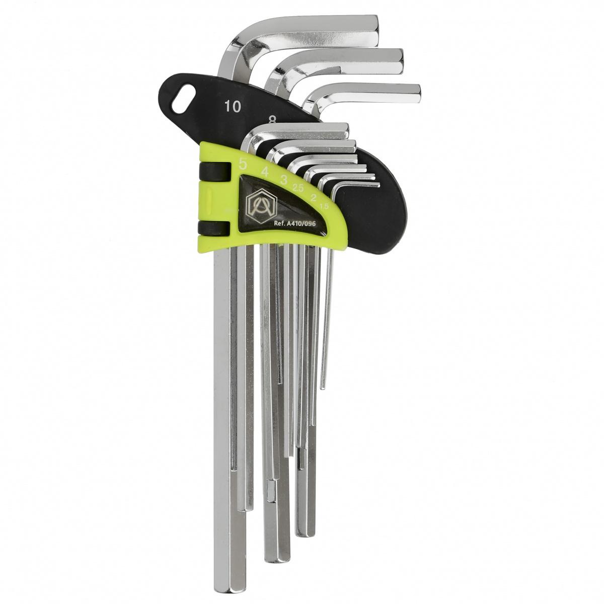 Набор шестигранных ключей A410/096, длинные