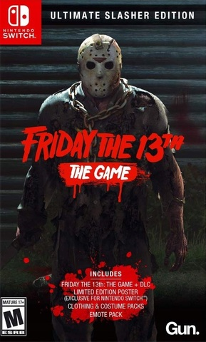 Friday the 13th - Ultimate Slasher Edition (Nintendo Switch, русская версия)