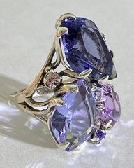 Мулен Руж (кольцо из серебра)