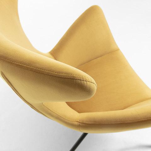 Кресло Egg Vanda горчица CC0754J81