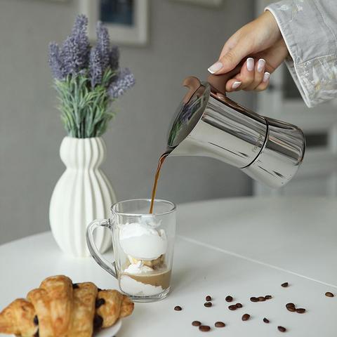 9416 FISSMAN Гейзерная кофеварка (на 9 чашек),  купить