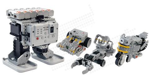 Образовательный робототехнический комплект для разработки мобильных роботов с различной кинематикой