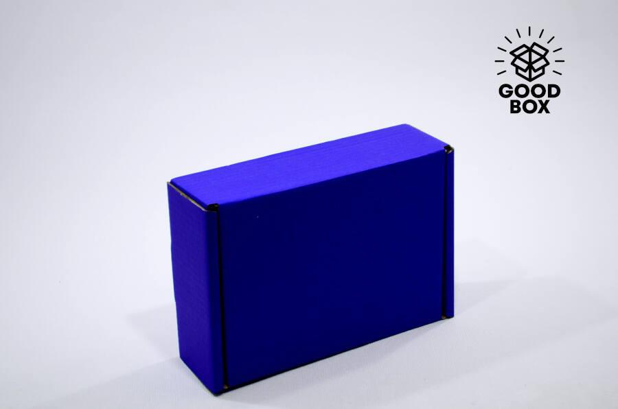 Купить синюю подарочную коробку в Алматы