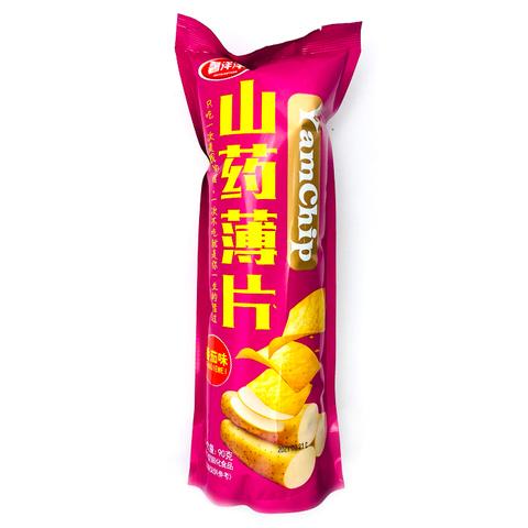 Чипсы из ямса YamChip Yajunshipin со вкусом томата 90 гр