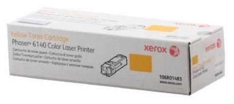 Оригинальный картридж Xerox 106R01483 желтый