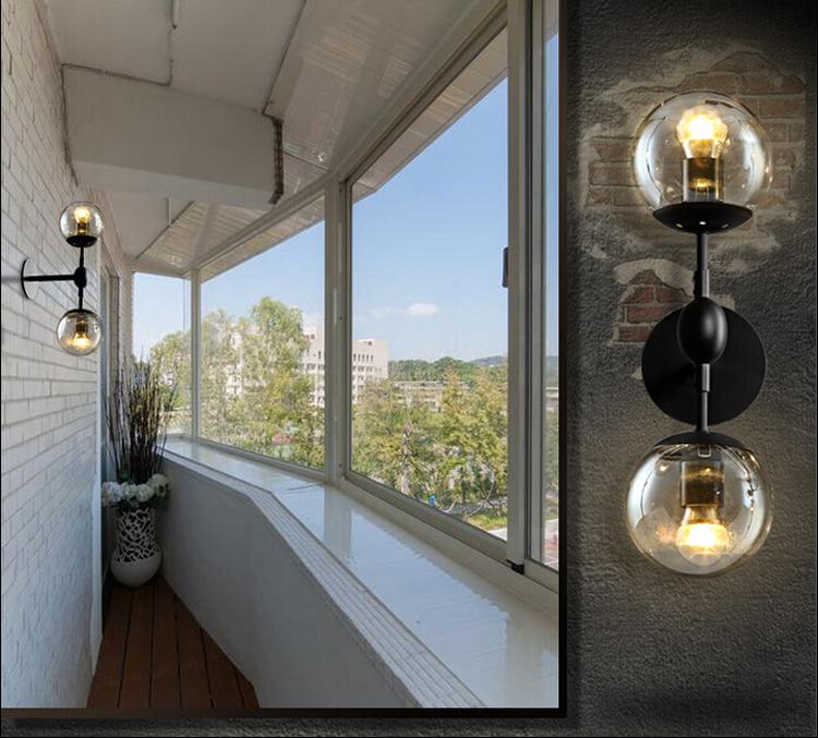 Настенный светильник копия Modo by Roll & Hill (2 плафона)