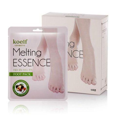 Petitfee Koelf Melting Essence Foot Pack маска-носочки для ног с маслами и экстрактами