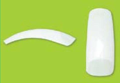 Типсы сильноизогнутые уп.100 шт. с клеем