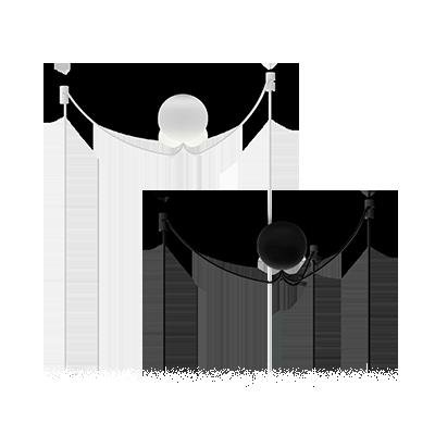 Подвес Cannonball Cluster 3 - вид 1