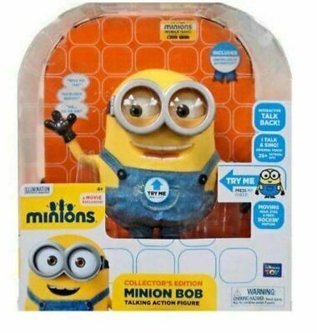 Гадкий я 2 интерактивная игрушка Миньон Дейв и Боб