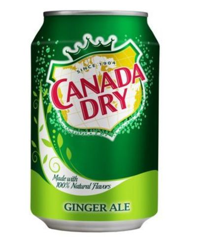 Canada Dry Ginger ale 0,330 л