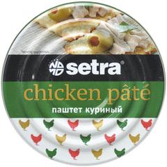 Паштет куриный Setra, 100 гр