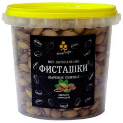 Фисташка соленая обжаренная в скорлупе HoneyForYou, 600 грамм (Турция)
