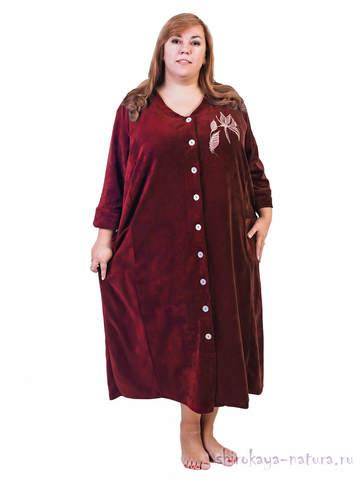 Велюровый халат Амалия