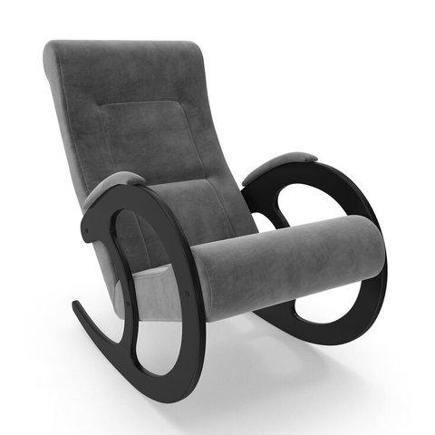 Кресло-качалка Комфорт Модель 3 венге/Verona Antrazite Grey