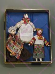 Набор кукол по мотивам коллекции А.Н.Бенуа