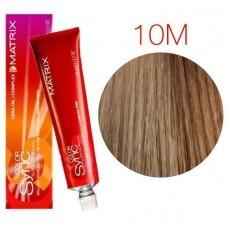 Matrix Color Sync: Mocha 10M очень-очень светлый блондин мокка, крем-краска без аммиака, 90мл