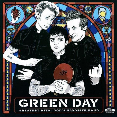Виниловая пластинка Green Day – Greatest Hits: God's Favorite Band (2LP)
