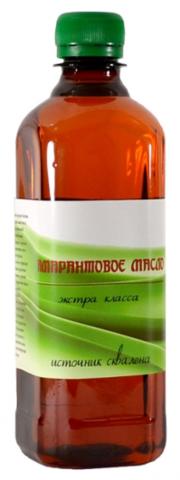 Амарантовое масло Эко-Про 500 мл.