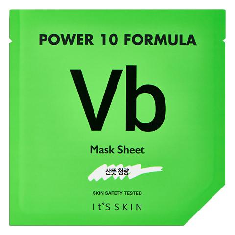 Балансирующая листовая маска для лица It's Skin с витамином В6 25 гр