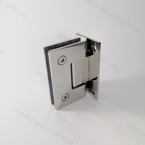 Петля душевая стена-стекло HDL-301 BF PSS полированная нержавеющая сталь