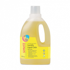 """Жидкость для стирки цветных тканей """"Мята и лимон"""" Sonett, (6шт х 1,5л по цене 5-ти)"""