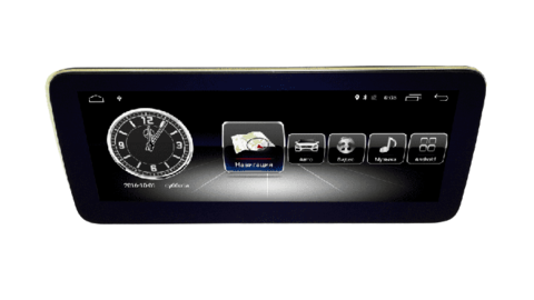 Монитор для Mercedes-Benz Class С W204 2011-2014 Android 10 4/64GB IPS 4G модель CB 7701-C
