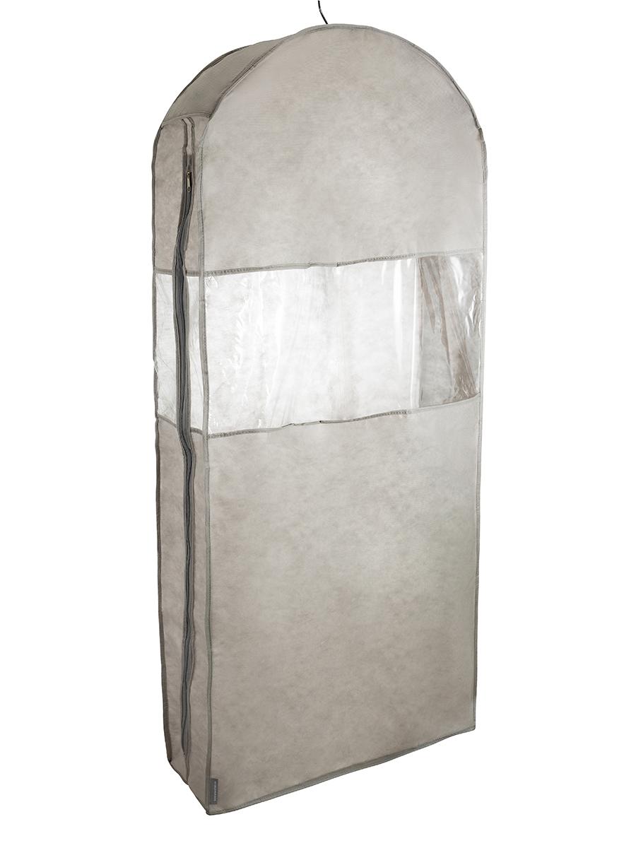 Чехол для шуб LUX длинный 130х60х18 см, Лондон