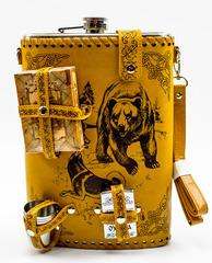 Фляга «Медведь и собаки», набор, 6 предметов, 1,9 л, фото 3
