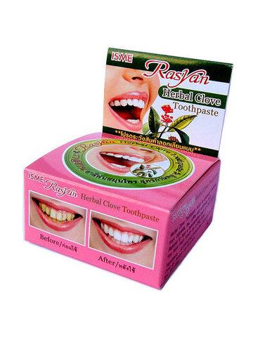 Травяная зубная паста Райсан / Raysan отбеливающая с гвоздикой