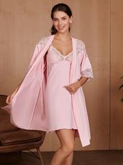 Vivamama. Комплект для беременных и кормящих Izabel, розовый вид 1