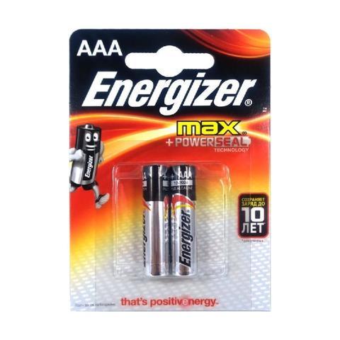 Батарейка Энерджайзер Макс E92/AAA BP2 (2шт)