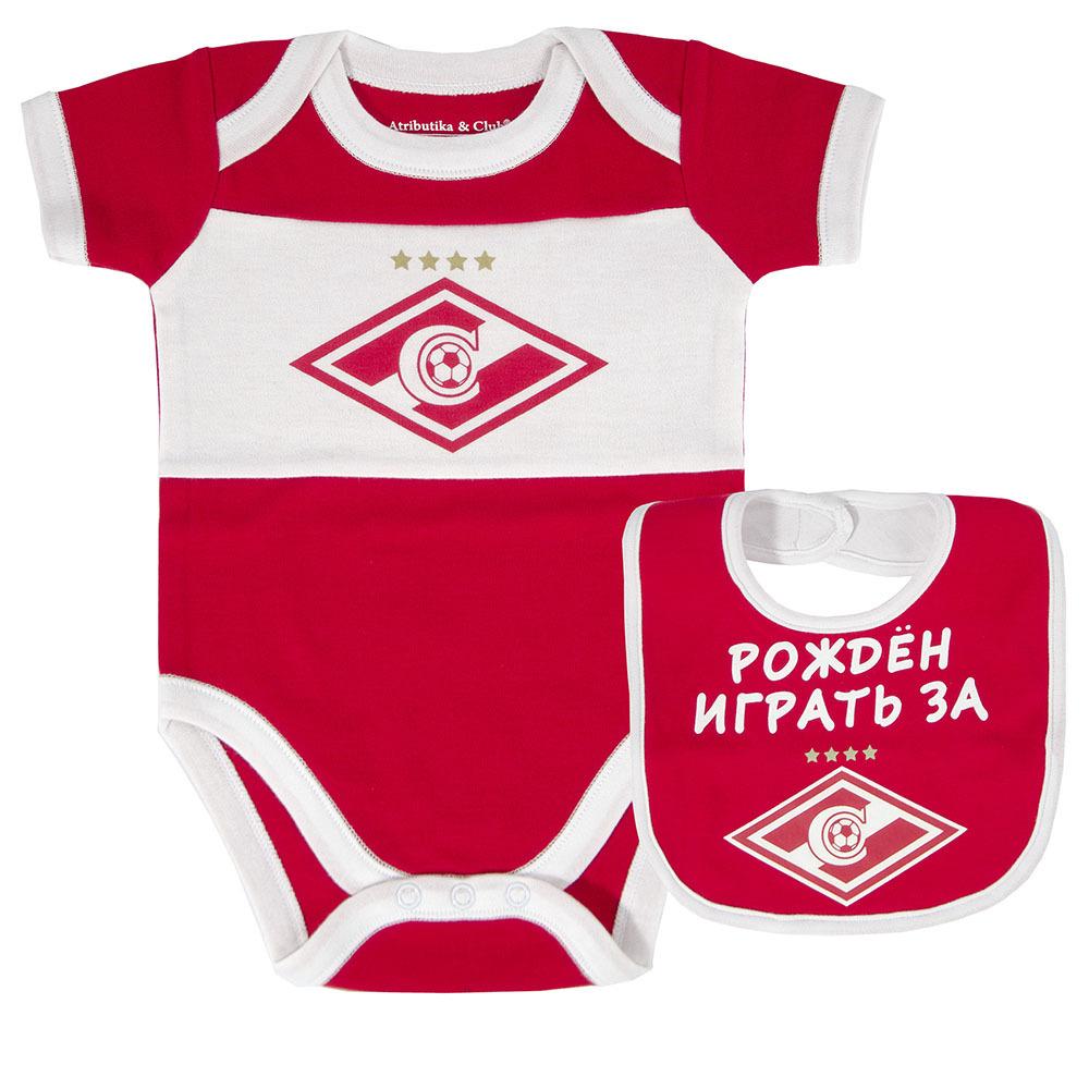 Комплект боди и нагрудник ФК Спартак