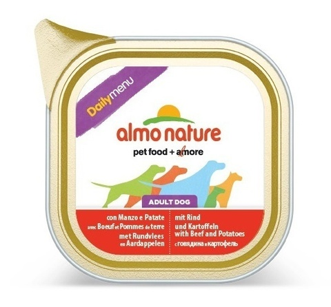 Консервы (ламистер) Almo Nature Daily Menu - Beef and Potatoes