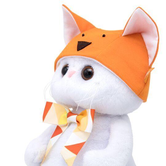 Кошечка Ли-Ли в шапке - лисичка