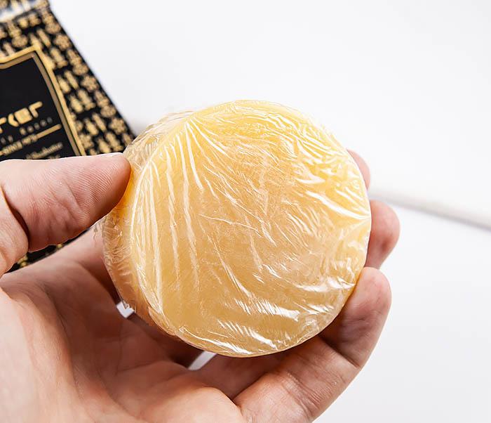 RAZ470 Сандаловое мыло для бритья PARKER с маслами (сменный блок, 100 гр) фото 04