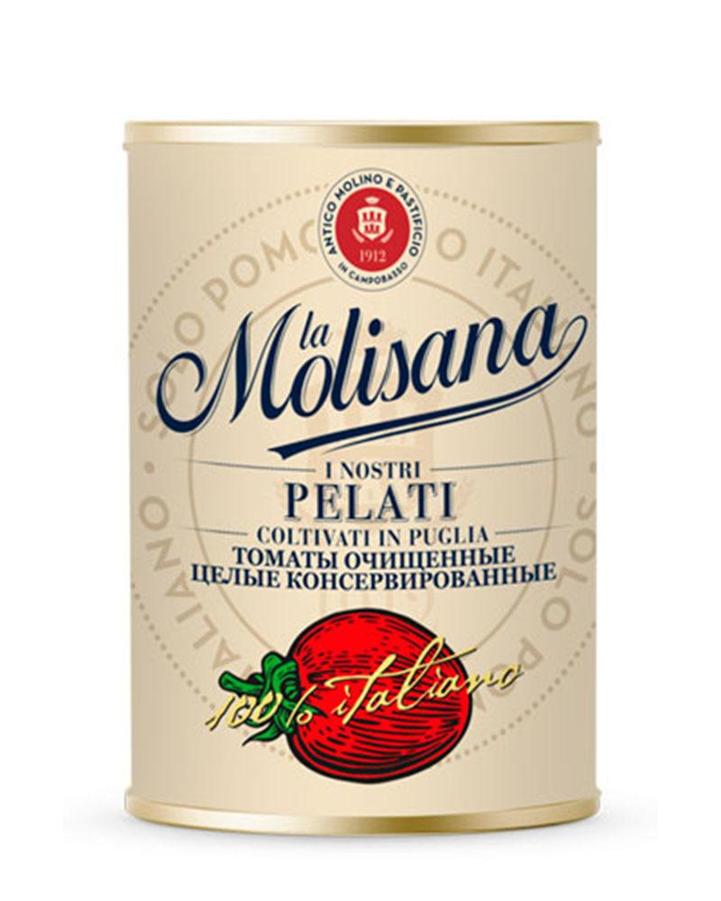 Томаты La Molisana очищенные целые консервированные 400 гр.