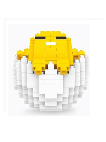 Конструктор Wisehawk & LNO Желток отдых 246 деталей NO. 073 Egg yolk man relax mini blocks