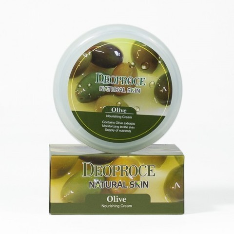 DEOPROCE NATURAL SKIN OLIVE NOURISHING CREAM