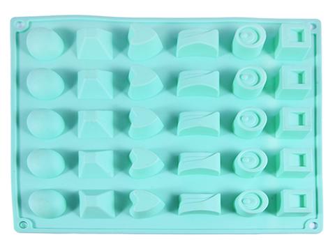"""6555 FISSMAN Форма для льда и шоколада """"Конфеты ассорти"""" 27x23,5x3 см,  купить"""