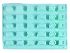 """6555 FISSMAN Форма для льда и шоколада """"Конфеты ассорти"""" 27x23,5x3 см"""