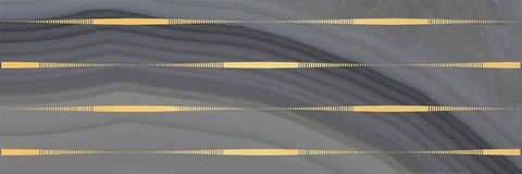 Декор Agat Lines серый 20x60